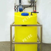 One tank with One pump chemical dosing system