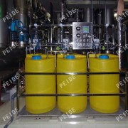 the installation of chemical dosing system1