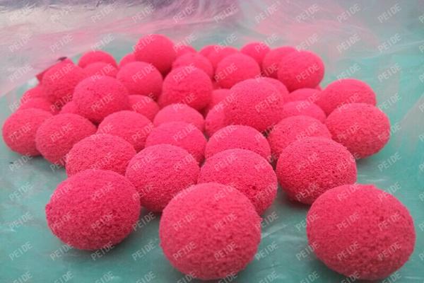 details of rubber balls