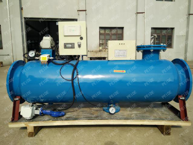 The front of the dynamic ionization release water processor