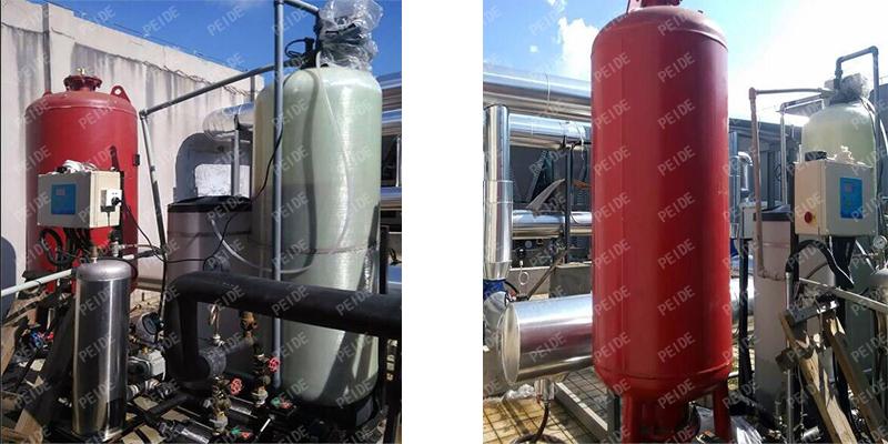 pump controlled pressurisation system case1