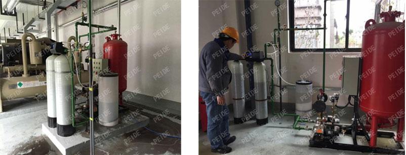 pump controlled pressurisation system case2