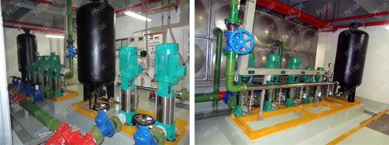 pump controlled pressurisation system case3