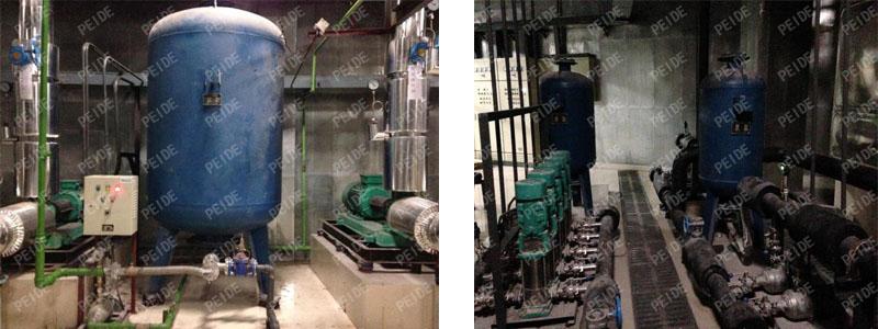 pump controlled pressurisation system case4