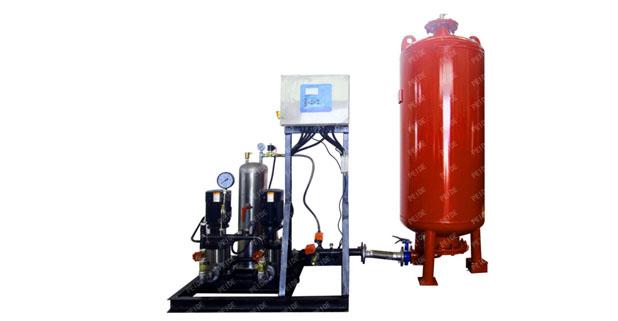 pump controlled pressurisation system&vacuum deaerator logo