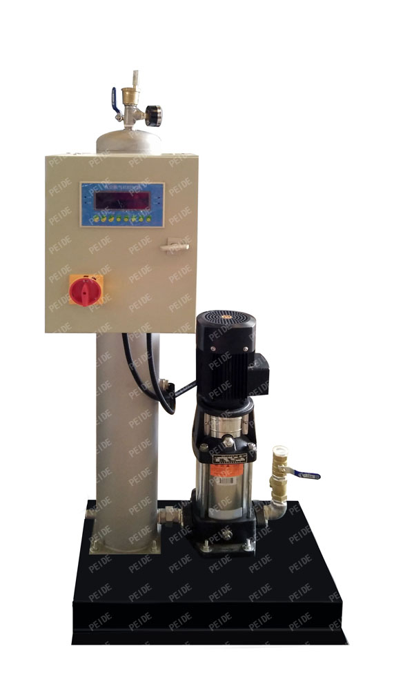 configuration of vacuum deaerator