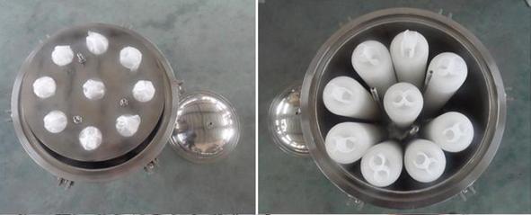 cartridge filter housing 8