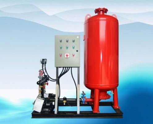pressurwe compensating device&vacuum deaerator