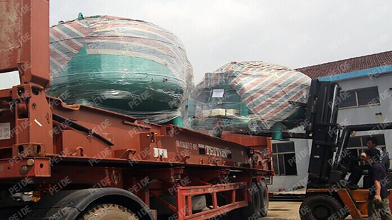 loading of sand filters2