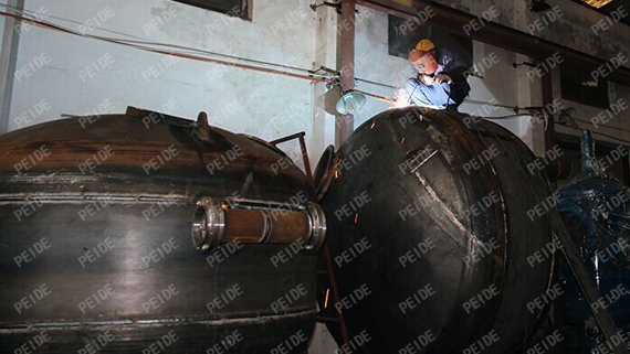 production line of sand filters1