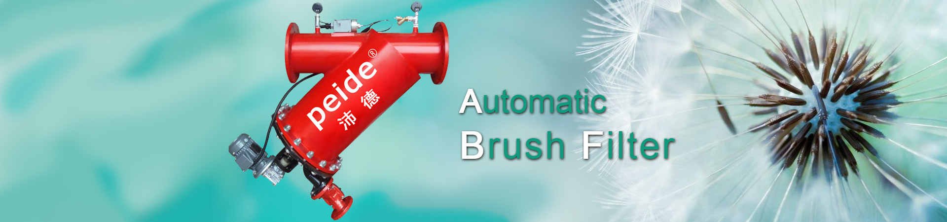 automatic brush filter