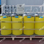 Four tank with Four pump chemical dosing system
