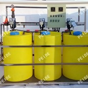 Three tank with Three pump chemical dosing system