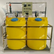 Two tank with Two pump chemical dosing system