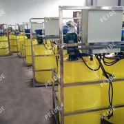 the installation of chemical dosing system2