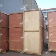the packing of chemical dosing system in wooden cases