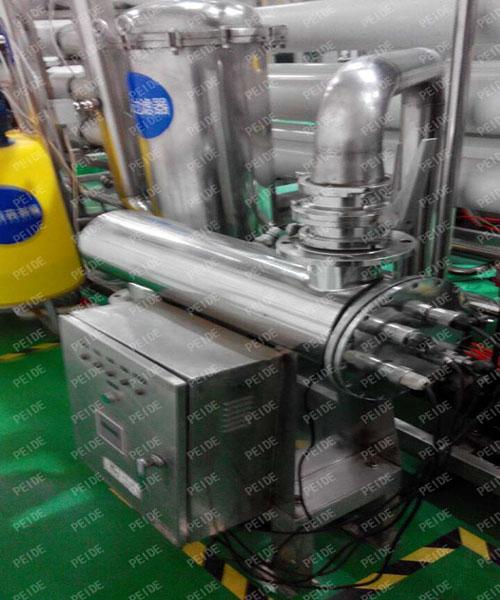 installation of UV sterilizers1