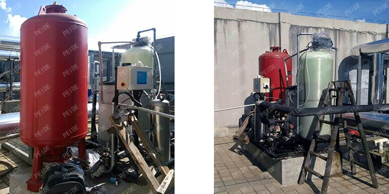 installation of constant pressure water supply equipment2