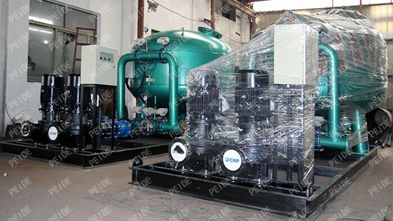 packing of sand filter