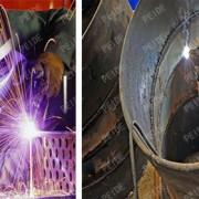 water treatment equipment welding workshop