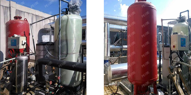 pump controlled pressurisation system case1