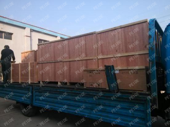Truck loading pictures of vacuum deaerator2