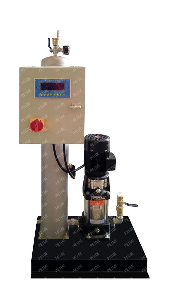 configuration of vacuum deaerator
