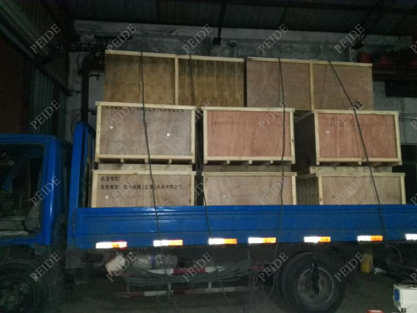 Truck loading pictures of electronic water descaler