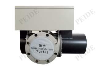 Medium pressure UV disinfection system P2